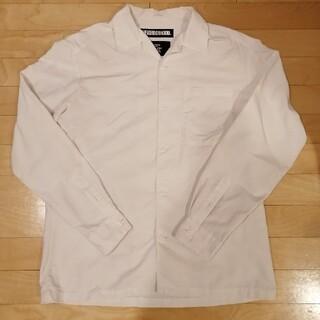 NEIGHBORHOOD - neighborhood ネイバーフッド 白シャツ L オープンカラーシャツ
