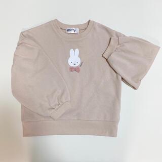 シマムラ(しまむら)のミッフィー トレーナー 120(Tシャツ/カットソー)