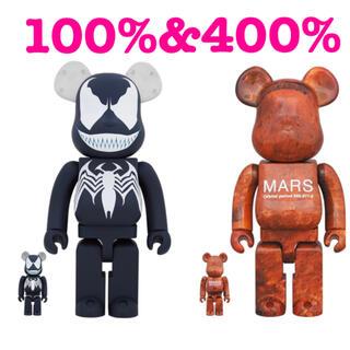 メディコムトイ(MEDICOM TOY)のベアブリック BE@RBRICK Mars 100% & 400% VENOM (その他)