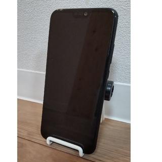 ファーウェイ(HUAWEI)のHUAWEI P20 Lite SIMフリー ブラック(スマートフォン本体)