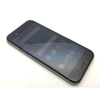 シャープ(SHARP)のSIMフリー美品 au AQUOS R SHV39 ブラック 350(スマートフォン本体)