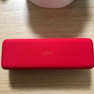 ジンズ(JINS)のJINS メガネケース 赤(サングラス/メガネ)