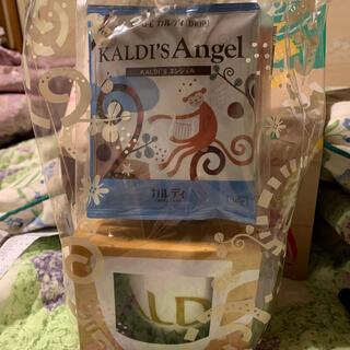 カルディ(KALDI)のKALDIバレンタインドリップ&マグカップセット(コーヒー)