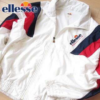 エレッセ(ellesse)の超美品 L エレッセ ellesse メンズ ジャケット ホワイト(ウェア)
