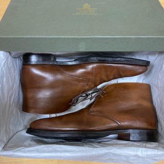 クロケットアンドジョーンズ(Crockett&Jones)のクロケット&ジョーンズ CROCKETT&JONES チャッカ ブーツ 革靴(ブーツ)