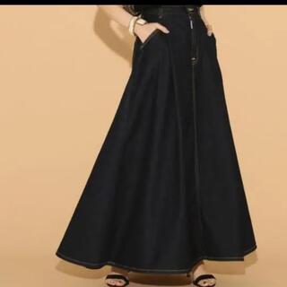 スピックアンドスパン(Spick and Span)のSpick & Span × SOMETHING  ハイパーマキシスカート S(ロングスカート)