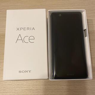 エクスペリア(Xperia)の新品未使用 Xperia Ace ブラック 64 GB SIMフリー 楽天(スマートフォン本体)