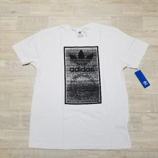 アディダス(adidas)のアディダス adidas 新品 白 ビッグTシャツ (Tシャツ/カットソー(半袖/袖なし))
