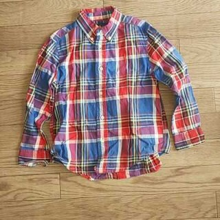 ラルフローレン(Ralph Lauren)のラルフローレン チェックシャツ サイズ5 110~120(ブラウス)