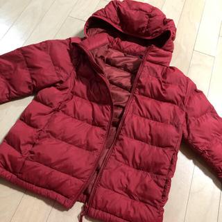 ユニクロ(UNIQLO)のユニクロ キッズ 子供服 ダウンジャケット アウター 140サイズ(ジャケット/上着)