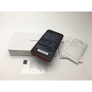 キョウセラ(京セラ)の【新品未使用】ワイモバイル DIGNO E 503KC レッド 312(スマートフォン本体)