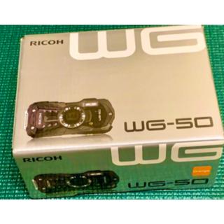 RICOH WG-50[オレンジ](コンパクトデジタルカメラ)