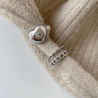 クロムハーツ(Chrome Hearts)のsilver925♡ハートリング(リング(指輪))