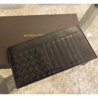 Bottega Veneta - 超美品 ボッテガヴェネタ 長財布 カードケース 薄型コンパクト 正規品