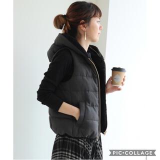 ニコアンド(niko and...)の☆未使用☆ AMERICAN HOLIC リバーシブル フード付 ベスト (ダウンベスト)