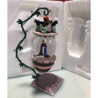 ディズニー(Disney)のディズニー 邪悪な女王がスノードーム (オルゴールメリー/モービル)