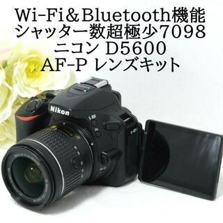 ニコン(Nikon)の★スマホ転送&自撮り★ショット数7098★Nikon ニコン D5600(デジタル一眼)