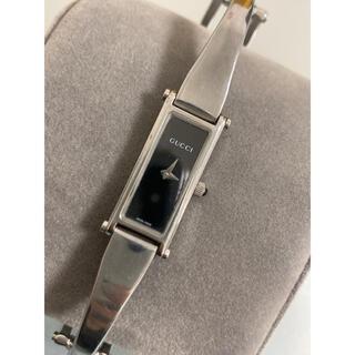 Gucci - グッチ 腕時計 1500L ブラック