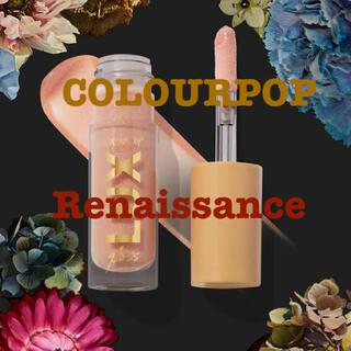 カラーポップ(colourpop)の新品 COLOURPOP リップオイル Renaissance(リップグロス)