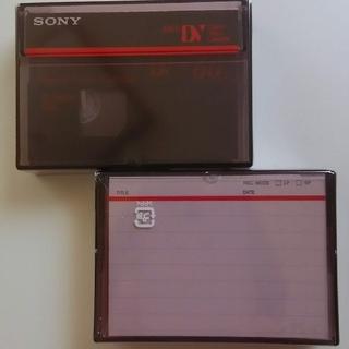 ソニー(SONY)のSONY⭐Mini DV 2個セット(ビデオカメラ)