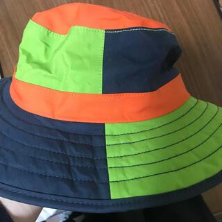 ロウアルパイン(Lowe Alpine)のAlpine 帽子 防水 ハット アウトドア フェス 蛍光色 目立つ 子供用*(登山用品)