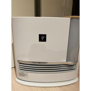 SHARP - 加湿セラミックファンヒーター HX-G120(ベージュ系)