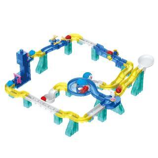 ブロック 玉転がし 知育玩具 プログラミング ギフト プレゼント(電車のおもちゃ/車)