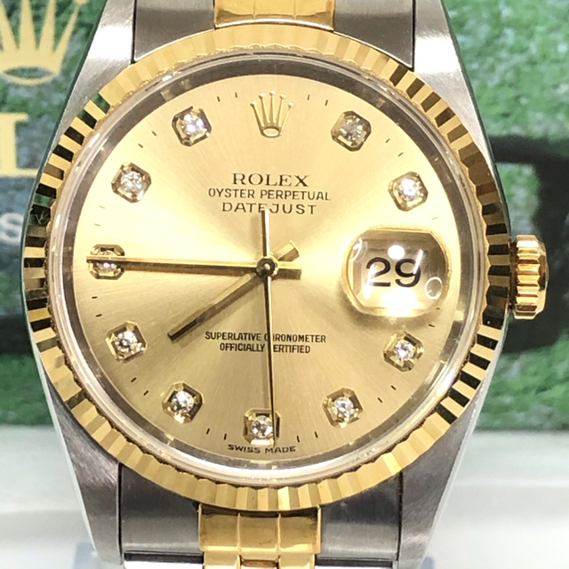 ROLEX(ロレックス)の【期間限定】ROLEX ロレックス 16233G デイトジャスト ボーイズ 時計 メンズの時計(腕時計(アナログ))の商品写真