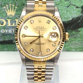 ROLEX - 【期間限定】ROLEX ロレックス 16233G デイトジャスト ボーイズ 時計