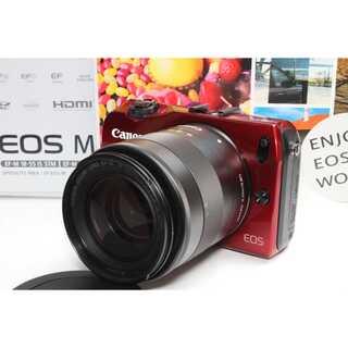 キヤノン(Canon)の❤️タッチパネルミラーレス❤️Canon EOS M レンズキット(ミラーレス一眼)