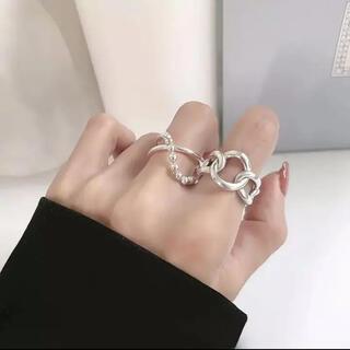 ビューティアンドユースユナイテッドアローズ(BEAUTY&YOUTH UNITED ARROWS)のsilver925 big chain ring(リング(指輪))