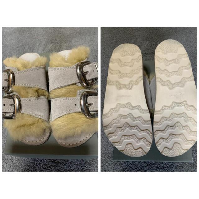 DEUXIEME CLASSE(ドゥーズィエムクラス)のDeuxieme Classe CAMINANDO カミナンド ファーサンダル レディースの靴/シューズ(サンダル)の商品写真