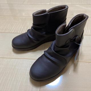 シマムラ(しまむら)のしまむら サイドボタンショートブーツ(ブーツ)