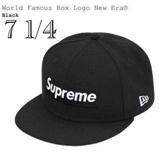 Supreme - 新品未使用 World Famous Box Logo New Era