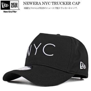 NEW ERA - 【早い者勝ち】ニューエラ NYC キャップ ブラック