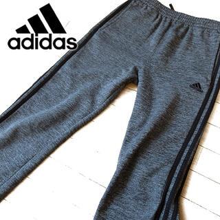アディダス(adidas)の超美品 ジュニアXL アディダス 裏起毛 スウェットパンツ グレー(その他)