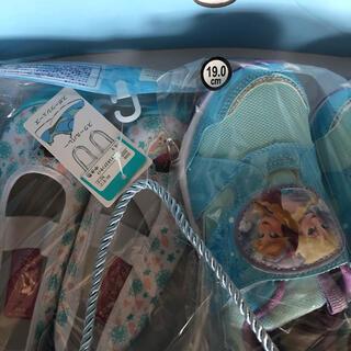 ディズニー(Disney)のアナ雪 シューズ 上靴 セット(スクールシューズ/上履き)
