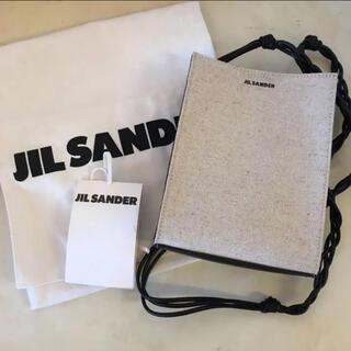 Jil Sander - ジルサンダー タングル ショルダーバッグ  キャンバス