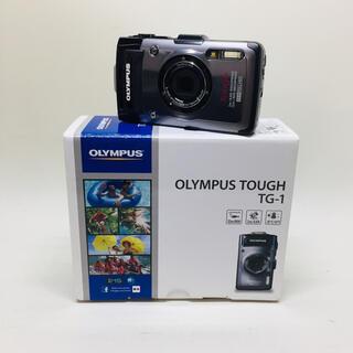 オリンパス(OLYMPUS)のOLYMPUS デジタルカメラ TG-1 シルバー(コンパクトデジタルカメラ)