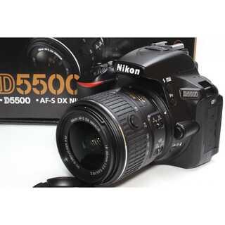 ニコン(Nikon)の❤️Wi-Fi内蔵&自撮り❤️Nikon D5500 レンズキット(デジタル一眼)