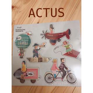 アクタス(ACTUS)の新品未使用☆ACTUS購入 LONDJI マグネット(その他)