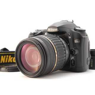 ニコン(Nikon)の★ 極上美品 iPhoneに転送OK!Nikon D50 レンズキット ★ (デジタル一眼)