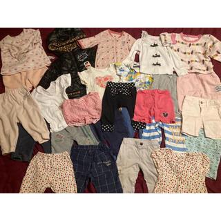 ベベ(BeBe)の子ども服まとめ売り26着 70-100サイズ(Tシャツ)
