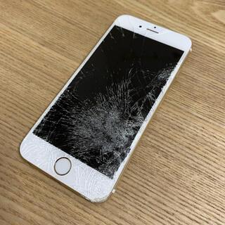 アイフォーン(iPhone)の【送料込み】iPhone6  ゴールド 本体 ジャンク(スマートフォン本体)