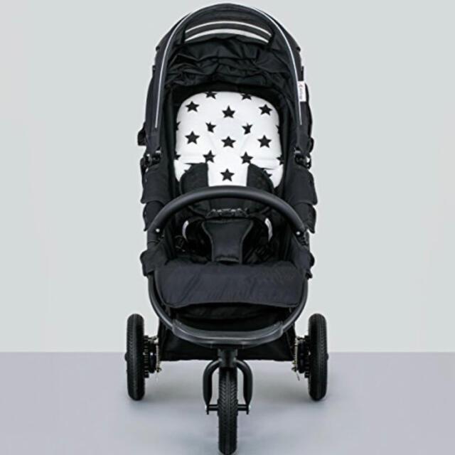 AIRBUGGY(エアバギー)の新品AIR buggyスター柄ベビーカーヘッドサポートクッション キッズ/ベビー/マタニティの外出/移動用品(ベビーカー用アクセサリー)の商品写真