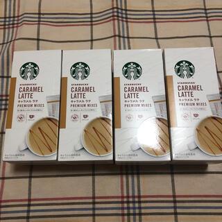 スターバックスコーヒー(Starbucks Coffee)のスターバックス キャラメルラテ 4箱(コーヒー)