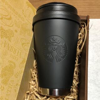 スターバックスコーヒー(Starbucks Coffee)の☆新品☆スターバックス ステンレスTogoタンブラー マットブラック(タンブラー)