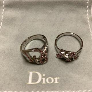 クリスチャンディオール(Christian Dior)のDiorのオブリーク/トロッター柄 リング(リング(指輪))