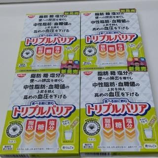 ニッシンショクヒン(日清食品)の日清食品トリプルバリア 4箱(その他)