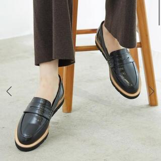 ロペピクニック(Rope' Picnic)の粒スタッズコインローファー(ローファー/革靴)